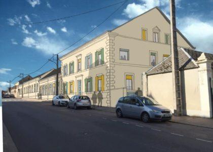 Avancement du projet des 13 logements éco-responsables pour seniors